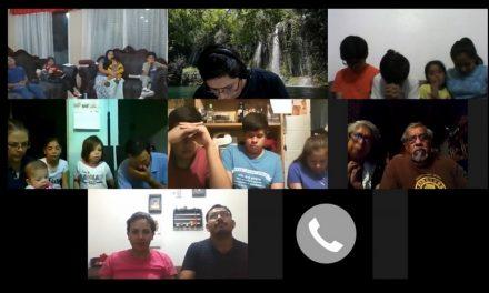 Primera reunión virtual